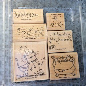 Stampin Up Haunting Halloween Rubber Stamp